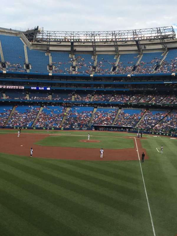 Rogers Centre, section: 239R, row: 1, seat: 4