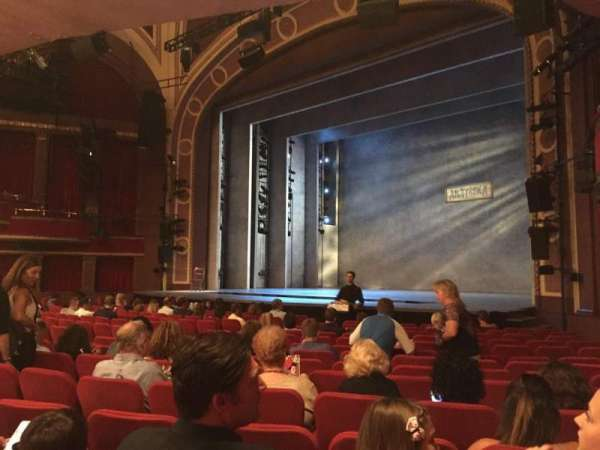 Broadway Theatre - 53rd Street, section: Orchestra R, row: Q, seat: 27