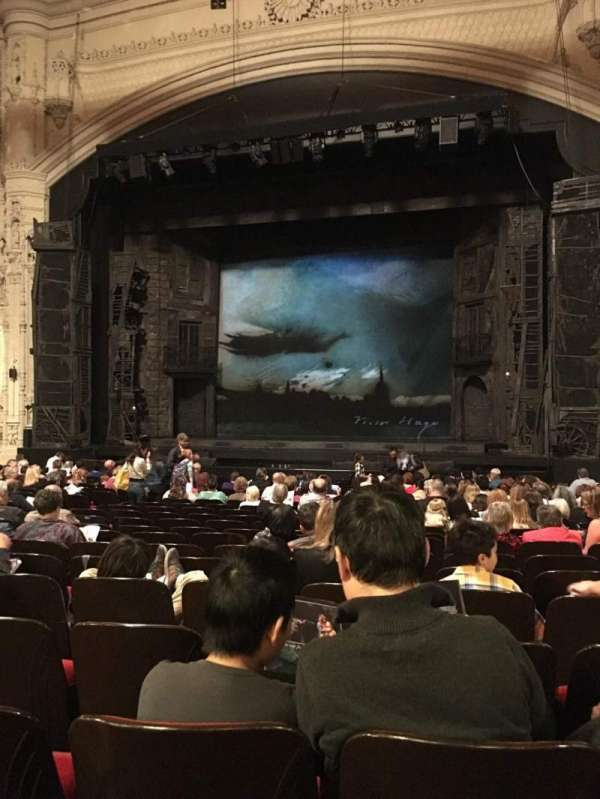 Orpheum Theatre (San Francisco), section: Orchestra RC, row: W, seat: 120