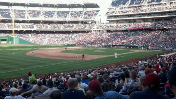 Nationals Park, section: 111, row: KK, seat: 8