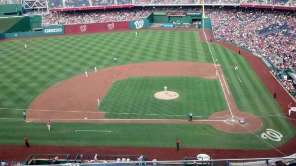 Nationals Park, section: 309, row: E, seat: 6
