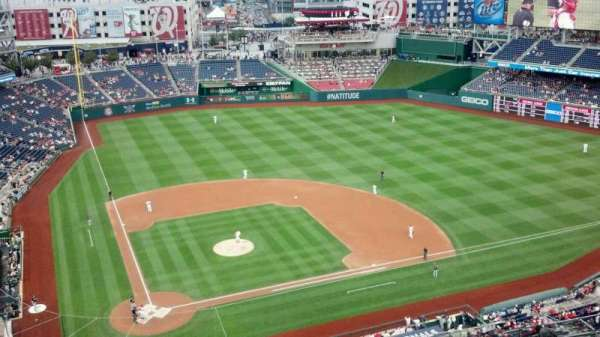 Nationals Park, section: 416, row: M, seat: 8