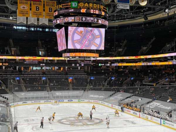 TD Garden, section: Loge 7, row: 26, seat: 31