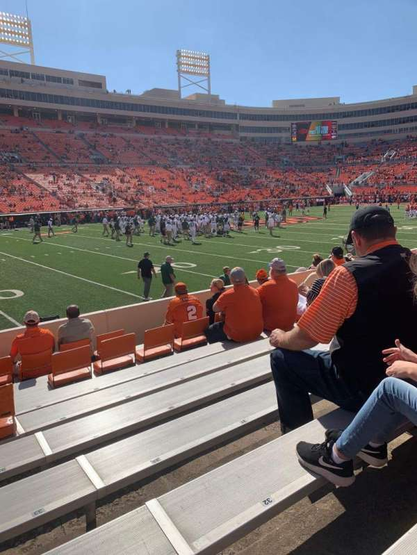 Boone Pickens Stadium, section: 119, row: 8, seat: 33