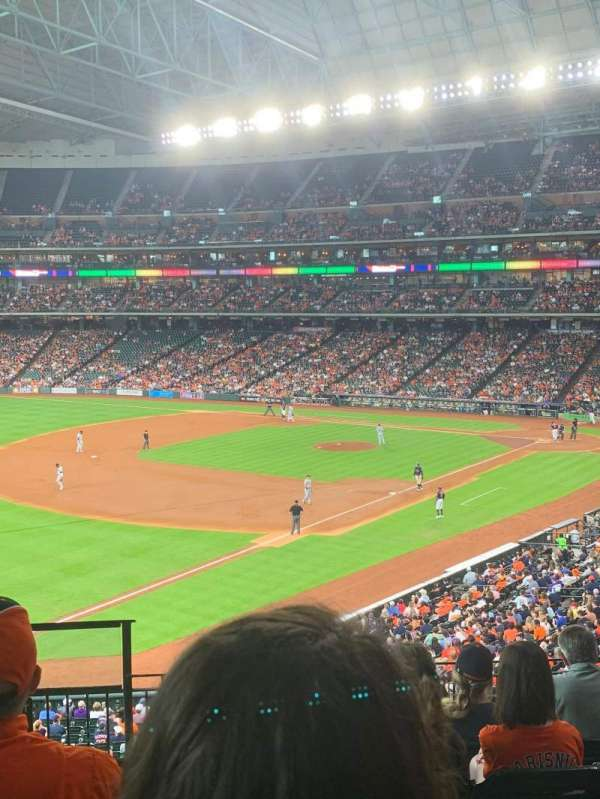 Minute Maid Park, section: 207, row: 7
