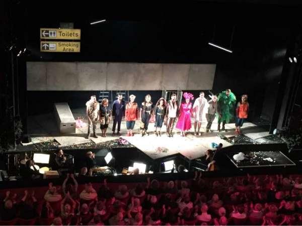 Longborough Festival Opera, section: Balcony, seat: 8