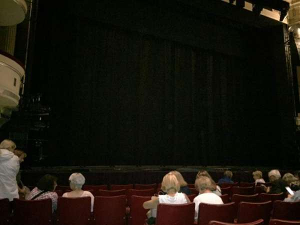 Birmingham Hippodrome, section: Front Stalls, row: H, seat: 36