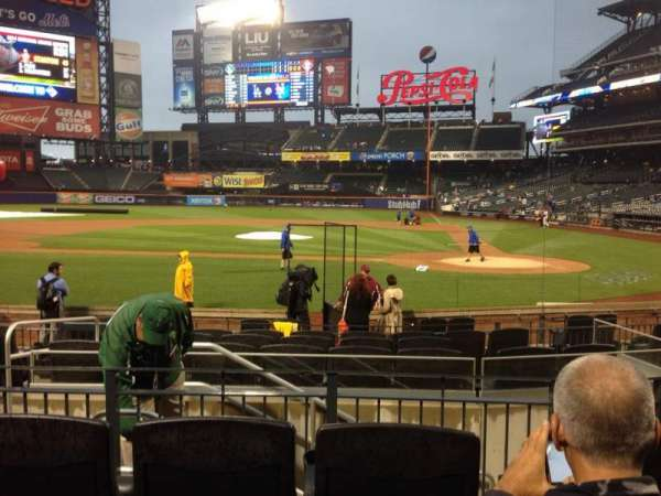 Citi Field, section: 18, row: 12, seat: 9