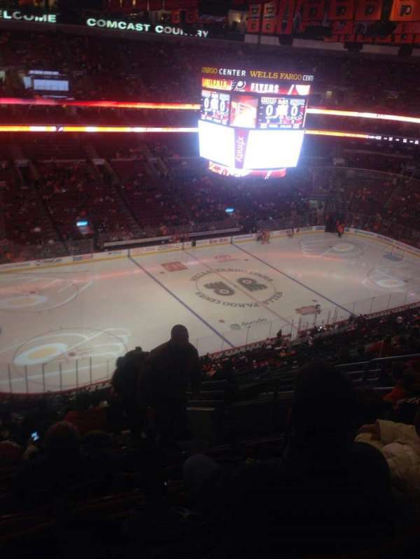 Wells Fargo Center, section: 210A, row: 12, seat: 14