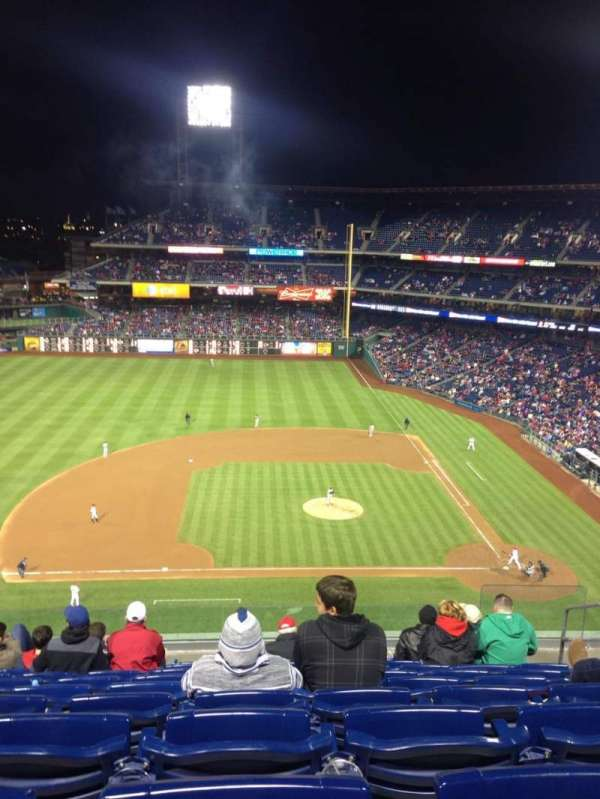 Citizens Bank Park, section: 326, row: 7, seat: 5