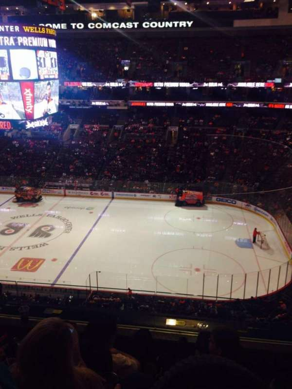 Wells Fargo Center, section: 203, row: 4, seat: 12