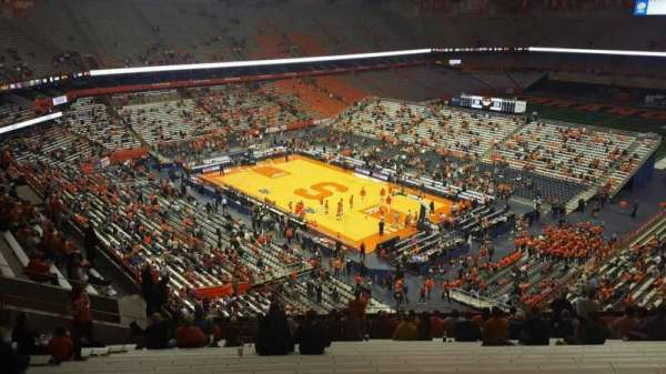 Carrier Dome, section: 307, row: s, seat: 109