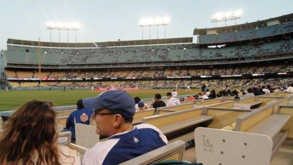 Dodger Stadium, section: 45FD, row: 4, seat: 2