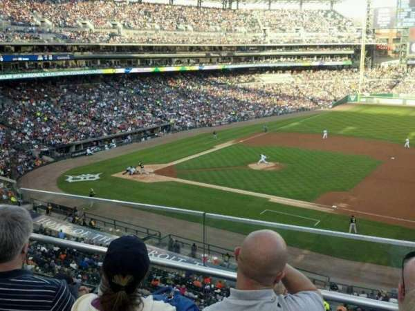 Comerica Park, section: 218, row: C, seat: 4