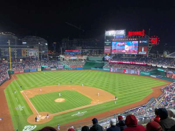 Nationals Park, section: 316, row: E, seat: 10