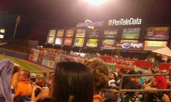 Coca-Cola Park, section: 102, row: T, seat: 14