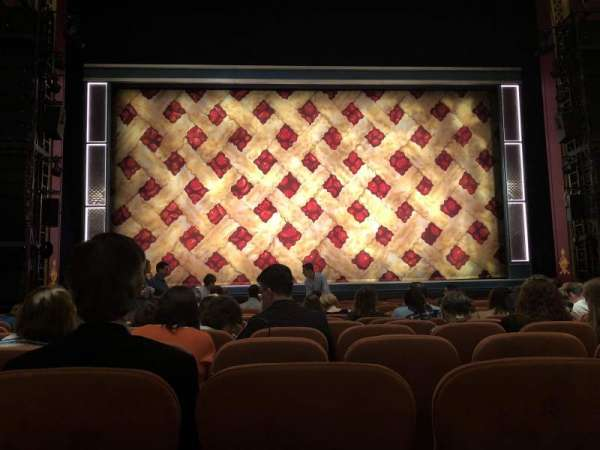 National Theatre (DC), section: Orchestra, row: M, seat: 109