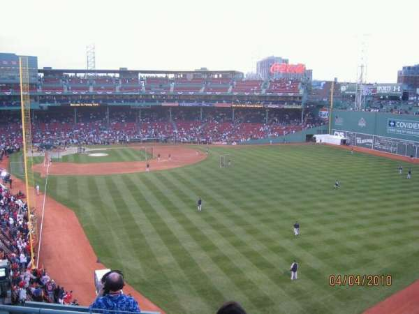 Fenway Park, section: Budweiser Roof Deck, row: Table