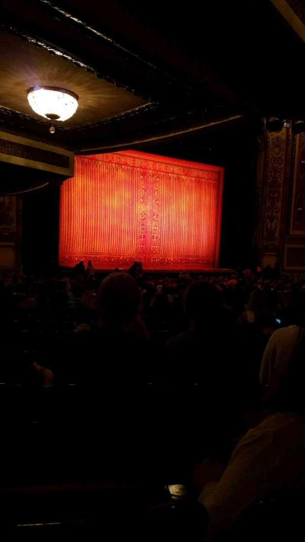 Cadillac Palace Theater, section: Orchestra L, row: W, seat: 31