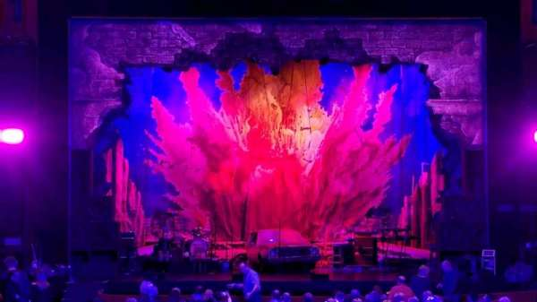 James M. Nederlander Theatre, section: Orchestra C, row: Y, seat: 107