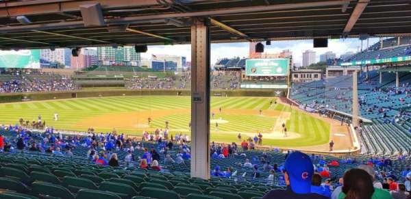 Wrigley Field, section: 214, row: 18, seat: 13
