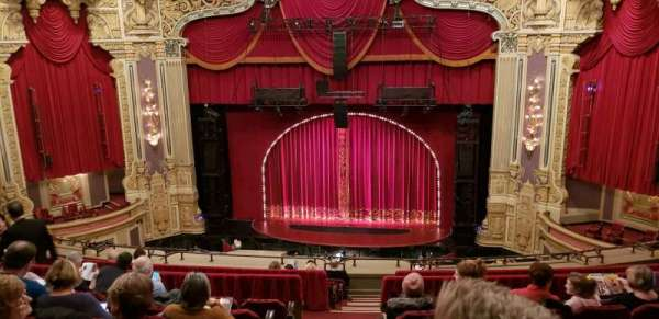 James M. Nederlander Theatre, section: Balcony RC, row: L, seat: 320