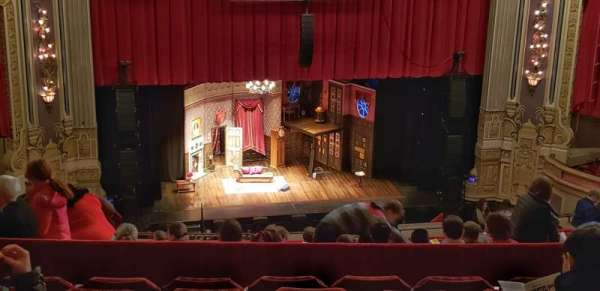 James M. Nederlander Theatre, section: Balcony LC, row: T, seat: 335