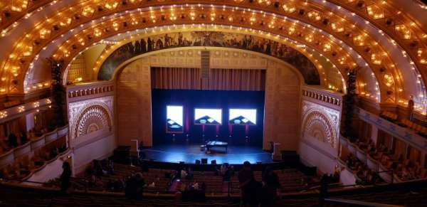Auditorium Theatre, section: MBLCCR, row: M, seat: 312