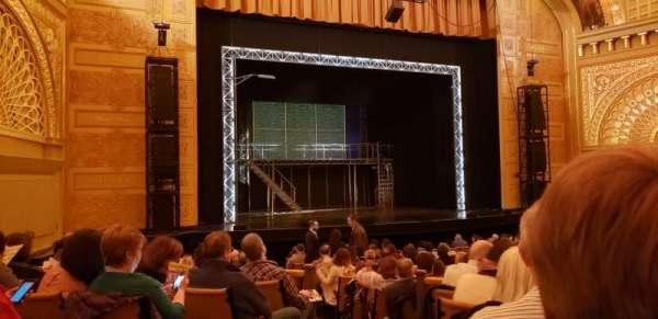 Auditorium Theatre, section: ORCHLC, row: U, seat: 414