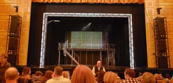 Auditorium Theatre, section: ORCHC, row: M, seat: 305