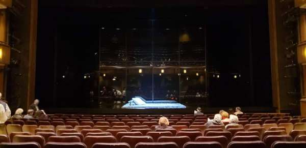 Goodman Theatre, section: Rear Main Floor, row: M, seat: 18