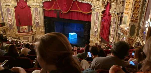 Nederlander Theatre (Chicago), section: BALCFR, row: S, seat: 386