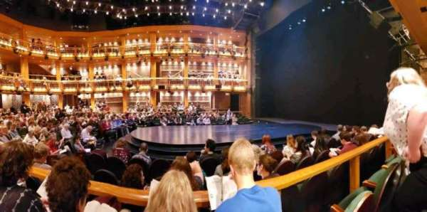 Chicago Shakespeare - Courtyard Theater, section: Main Floor Right, row: E, seat: 108