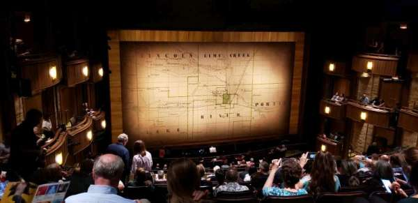 Goodman Theatre - Albert Theatre, section: Balcony, row: JJ, seat: 33
