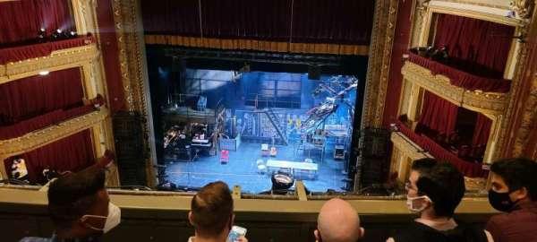 CIBC Theatre, section: Balcony RC, row: C, seat: 416