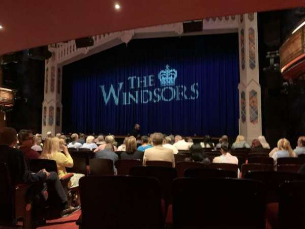 Princess of Wales Theatre, section: Stalls, row: M, seat: 11