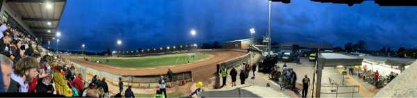 National Speedway Stadium, Belle Vue, Manchester, section: A, row: C, seat: 1