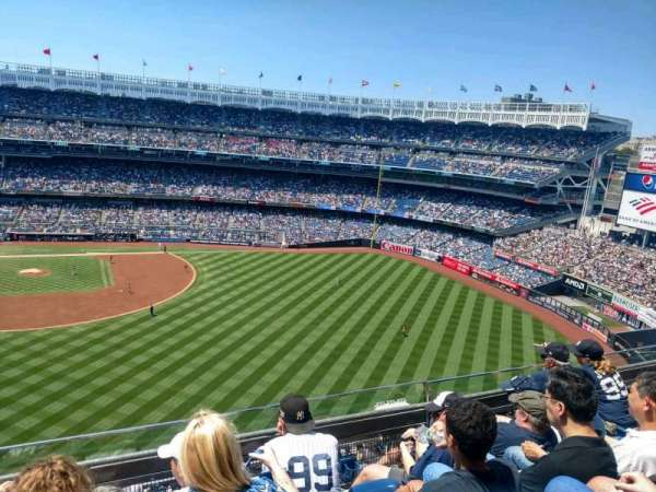 Yankee Stadium, section 405, home of New York Yankees, New ...