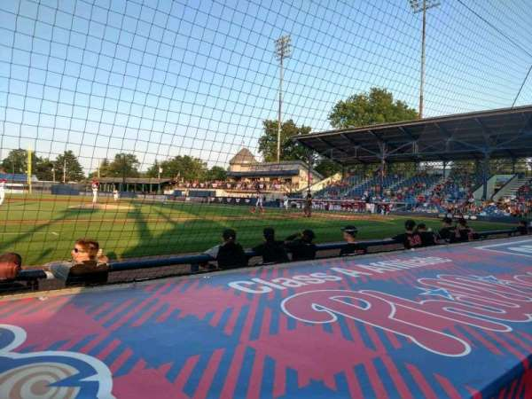 BB&T Ballpark at Historic Bowman Field, section: O, row: F, seat: 8
