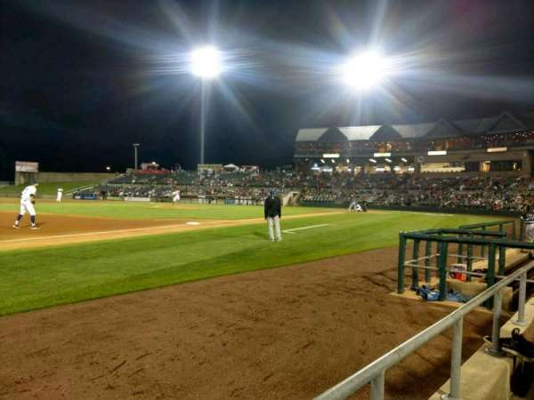 TD Bank Ballpark, section: 120, row: A, seat: 3