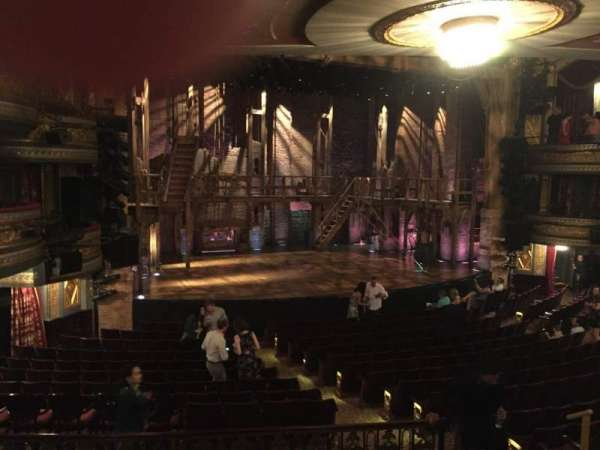Richard Rodgers Theatre, section: Orchestra L, row: R, seat: 15
