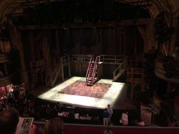 Richard Rodgers Theatre, section: Front Mezzanine R, row: C, seat: 12