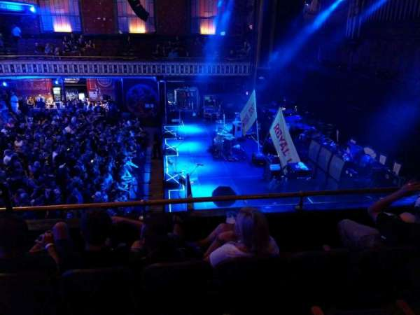 The Tabernacle, section: 207, row: D, seat: 11