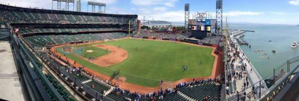 AT&T PArk, section: 302, row: 1, seat: 7