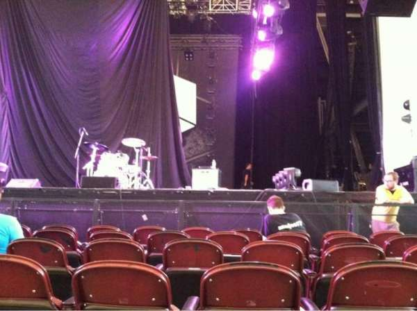 Rockland Trust Bank Pavilion, section: 2, row: F, seat: 5