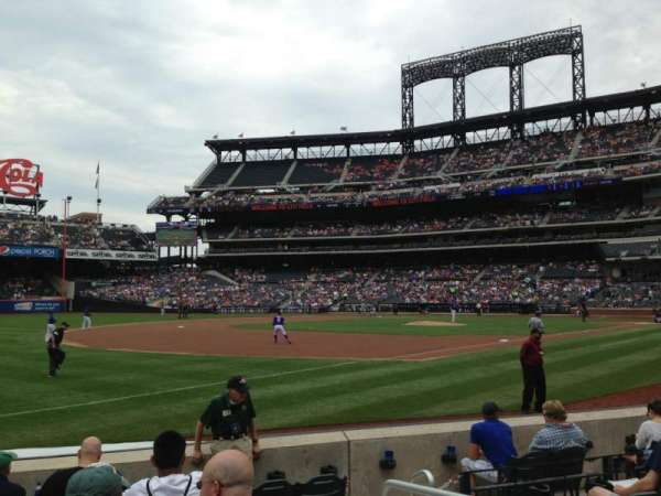Citi Field, section: 126, row: 3, seat: 1