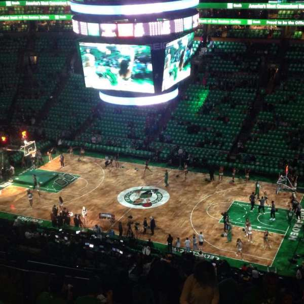 TD Garden, section: Bal 329, row: 14, seat: 11