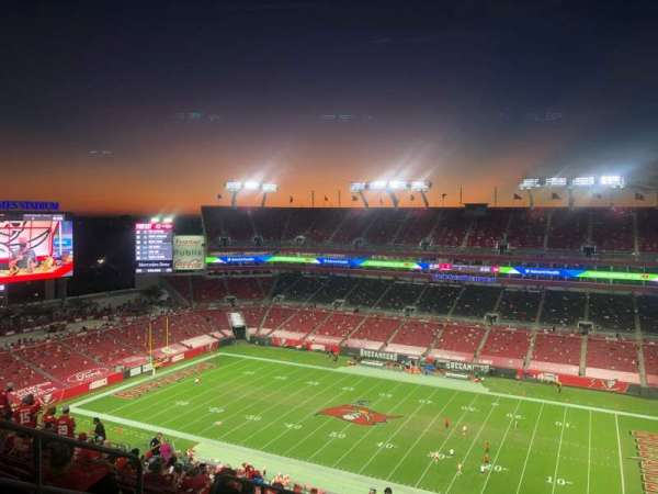 Raymond James Stadium, section: 339, row: V, seat: 6
