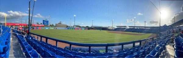 TD Ballpark, section: 114, row: 5, seat: 10
