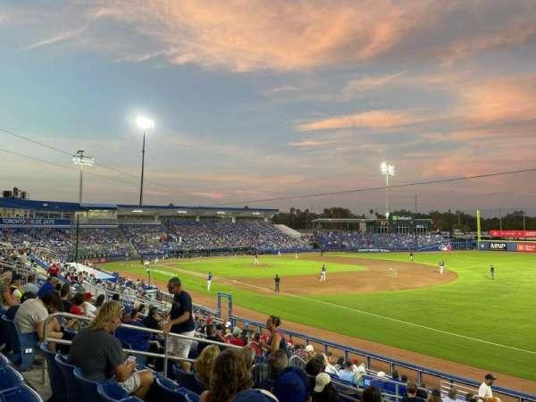 TD Ballpark, section: 200, row: 7, seat: 11